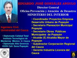 EDUARDO JOSÉ GONZÁLEZ ANGULO