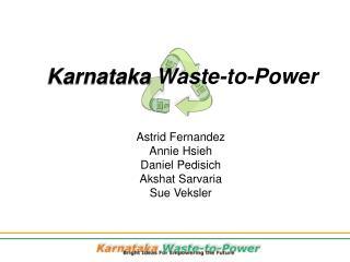 Karnataka  Waste-to-Power