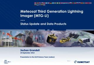 Meteosat Third Generation Lightning Imager (MTG-LI) --- Status Update and Data Products