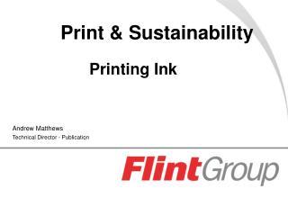Print & Sustainability