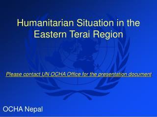 OCHA Nepal