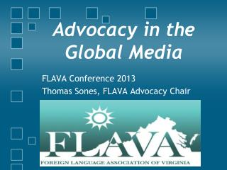 Advocacy in the Global Media