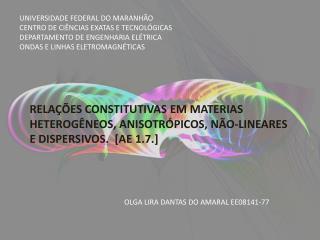 OLGA LIRA DANTAS DO AMARAL EE08141-77