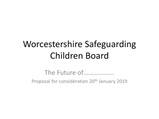 The Outcomes of Interagency Training to Safeguard Children