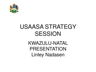 USAASA STRATEGY SESSION