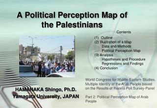 A Political Perception Map of the Palestinians