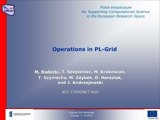Operations in PL-Grid