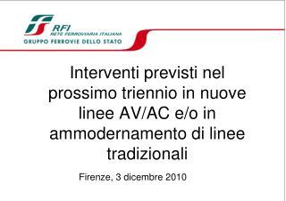 Firenze, 3 dicembre 2010