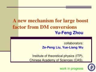 A new mechanism for large boost factor from DM conversions