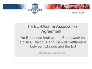 The EU-Ukraine Association Agreement