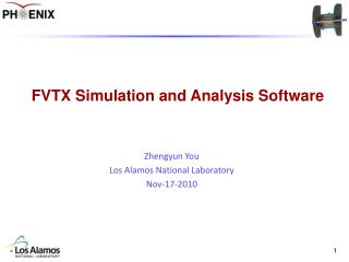 FVTX Simulation and Analysis Software