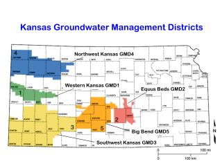 Kansas Groundwater Management Districts