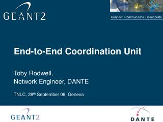 End-to-End Coordination Unit