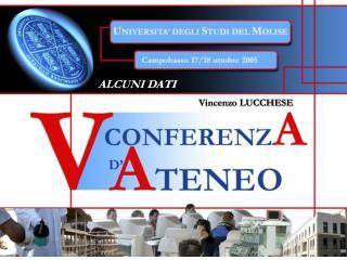 ALCUNI DATI Vincenzo LUCCHESE