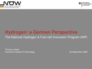 Hydrogen: a German Perspective