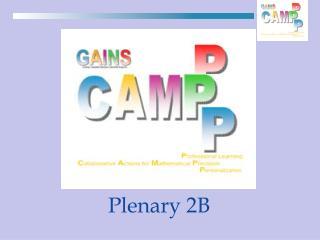 Plenary 2B