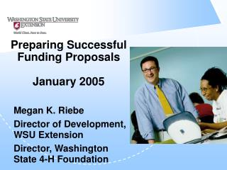 Preparing Successful Funding Proposals   January 2005