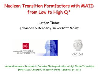 Nucleon Transition Formfactors with MAID from Low to High Q²