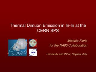 Thermal Dimuon Emission in In-In at the CERN SPS