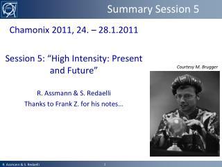 Summary Session 5