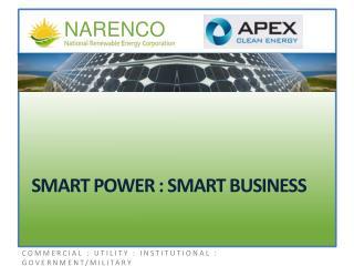 Smart Power : Smart Business