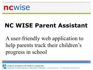 NC WISE Parent Assistant