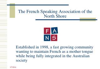 The French Speaking Association of the North Shore