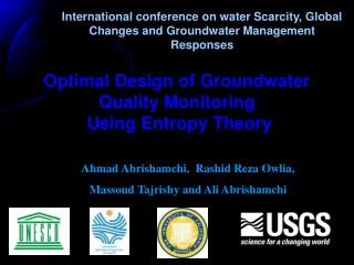 Optimal Design of Groundwater Quality Monitoring  Using Entropy Theory