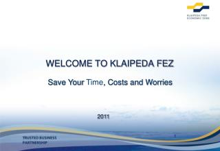 WELCOME TO KLAIPEDA FEZ