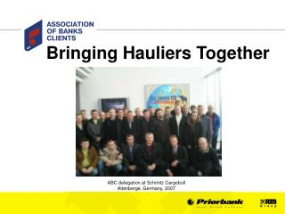 Bringing Hauliers Together