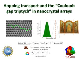 """Hopping transport and the """"Coulomb gap triptych"""" in nanocrystal arrays"""