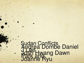 Sudan Conflicts