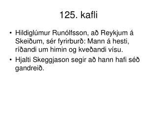 125. kafli