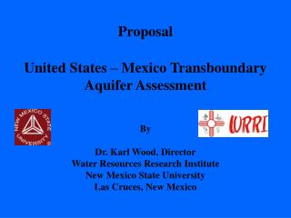 United States – Mexico Transboundary Aquifer Assessment