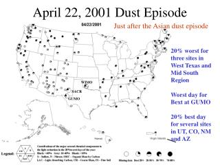 April 22, 2001 Dust Episode