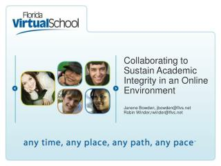 Collaborating to Sustain Academic Integrity in an Online Environment