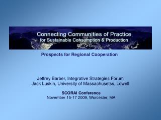 Prospects for Regional Cooperation