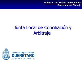 Junta Local de Conciliación y Arbitraje