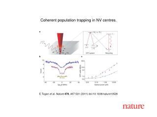 E Togan  et al. Nature 478 , 497-501 (2011) doi:10.1038/nature10528