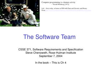 The Software Team