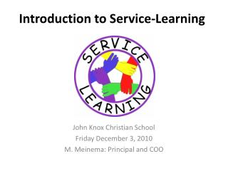 Introduction to Service-Learning