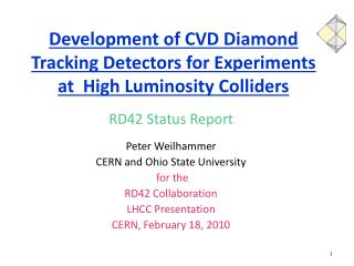 Development of CVD Diamond Tracking Detectors for Experiments at  High Luminosity Colliders