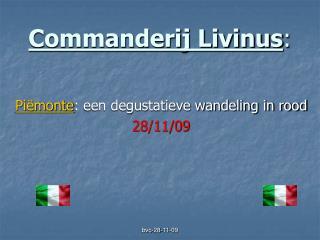 Commanderij Livinus :