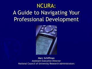 NCURA: A Guide to Navigating Your Professional Development