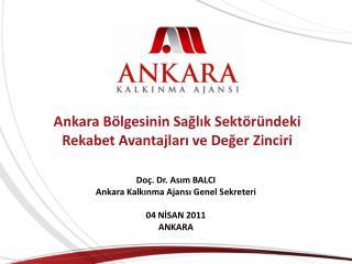 Ankara Bölgesinin Sağlık Sektöründeki Rekabet Avantajları ve Değer Zinciri