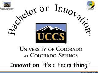 Bachelor o    Innovation