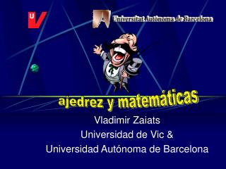 Vladimir Zaiats Universidad de Vic  Universidad Aut noma de Barcelona