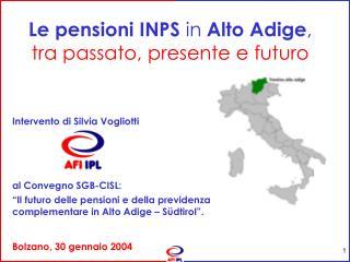 Intervento di Silvia Vogliotti  al Convegno SGB-CISL: