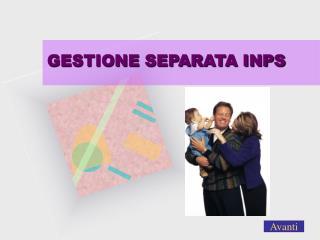 GESTIONE SEPARATA INPS