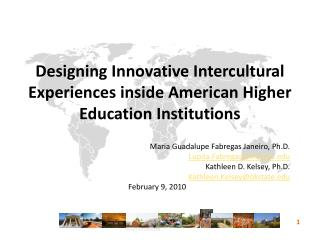 Designing Innovative Intercultural Experiences inside American Higher Education Institutions